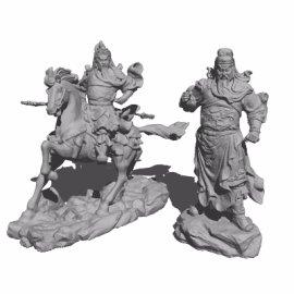 关羽人物雕塑雕像