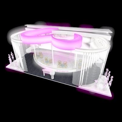 粉色婚纱展厅