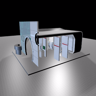 创意展厅模型