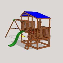 游乐设施su模型