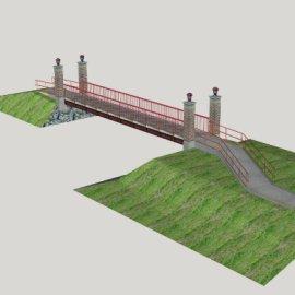 公园步行桥