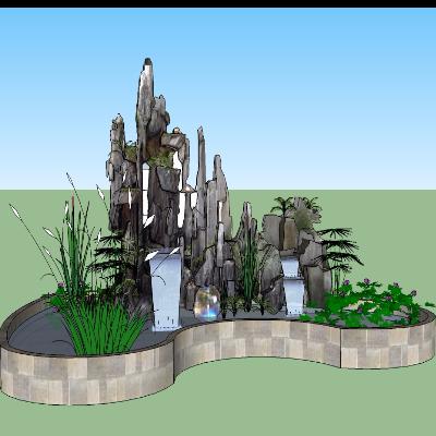 公园景观喷泉