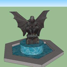 创意雕像喷泉