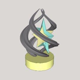 景观雕塑su模型