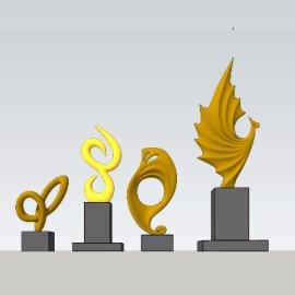 现代雕塑艺术