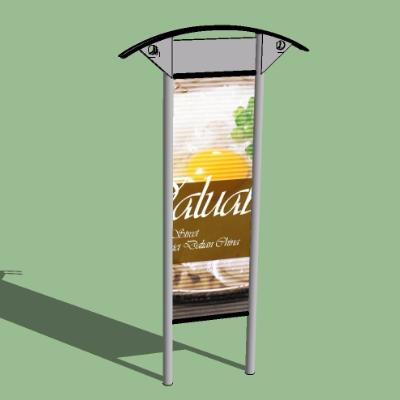 美食店广告牌