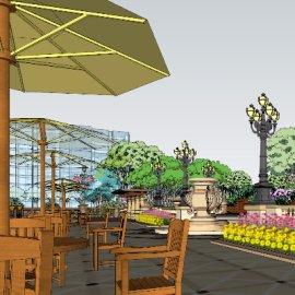 廊桥水乡景观设计