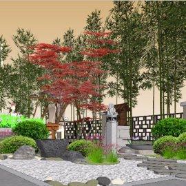院子 中式景观设计