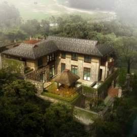豪华独栋别墅区景观设计