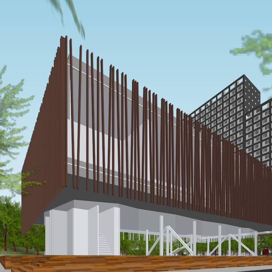 楼盘建筑景观设计