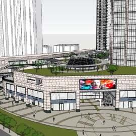 商业广场景观设计