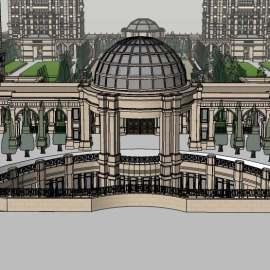 商业楼盘景观设计