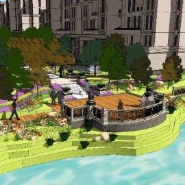 小区景观园林设计