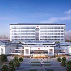 现代中式大型医院建筑楼