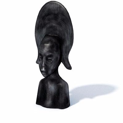 人物头像雕塑