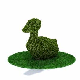 鸭子景观模型