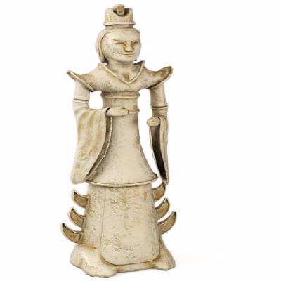 古代饰品 侍女3d模型