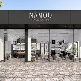 北欧咖啡店门头3D模型