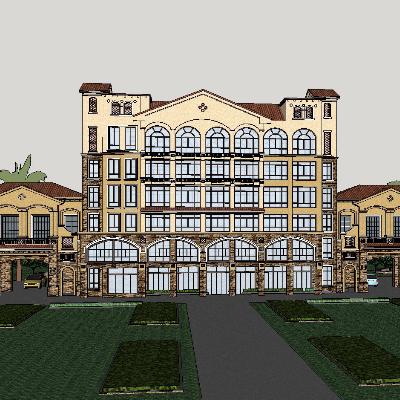 欧式风格酒店设计