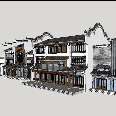 商业古建及其商业街