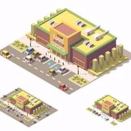 卡通工厂建筑