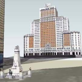多套完美大厦3D建筑景观设计模型