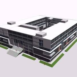 现代风格多层博物馆建筑案例