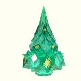 水晶圣诞树