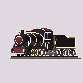 蒸汽火车模型
