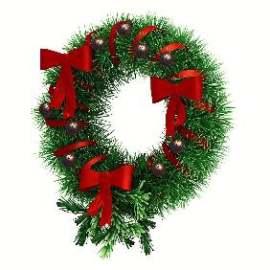 圣诞装饰花环