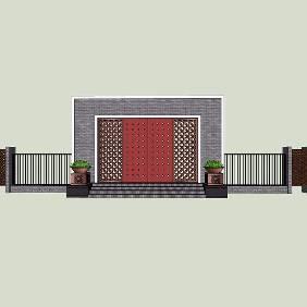 花园门户入口设计