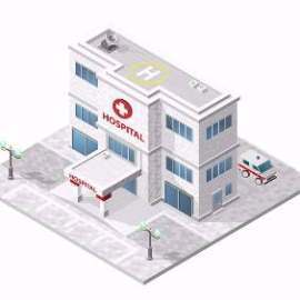 医院等距建筑