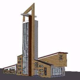 哨所建筑设计