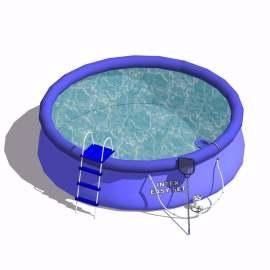 户外游泳池