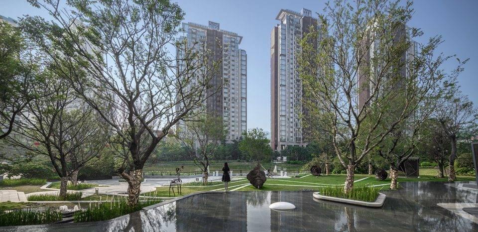 广州金山谷创意园景观设计