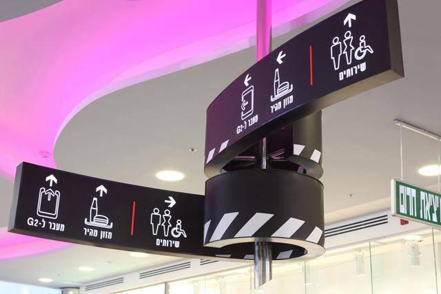 电影城的导视标识系统
