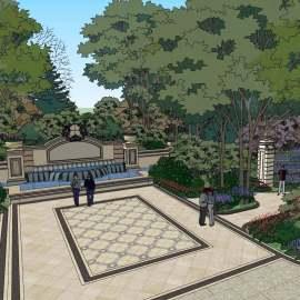 滨湖公园园区设计