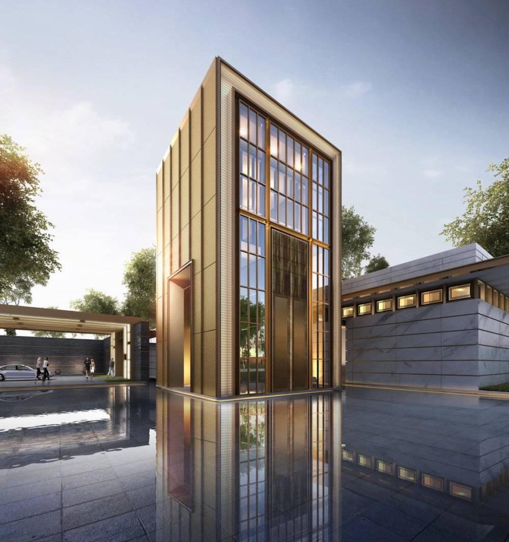华润大宁静安府示范区现代主义风格2层售楼处模型