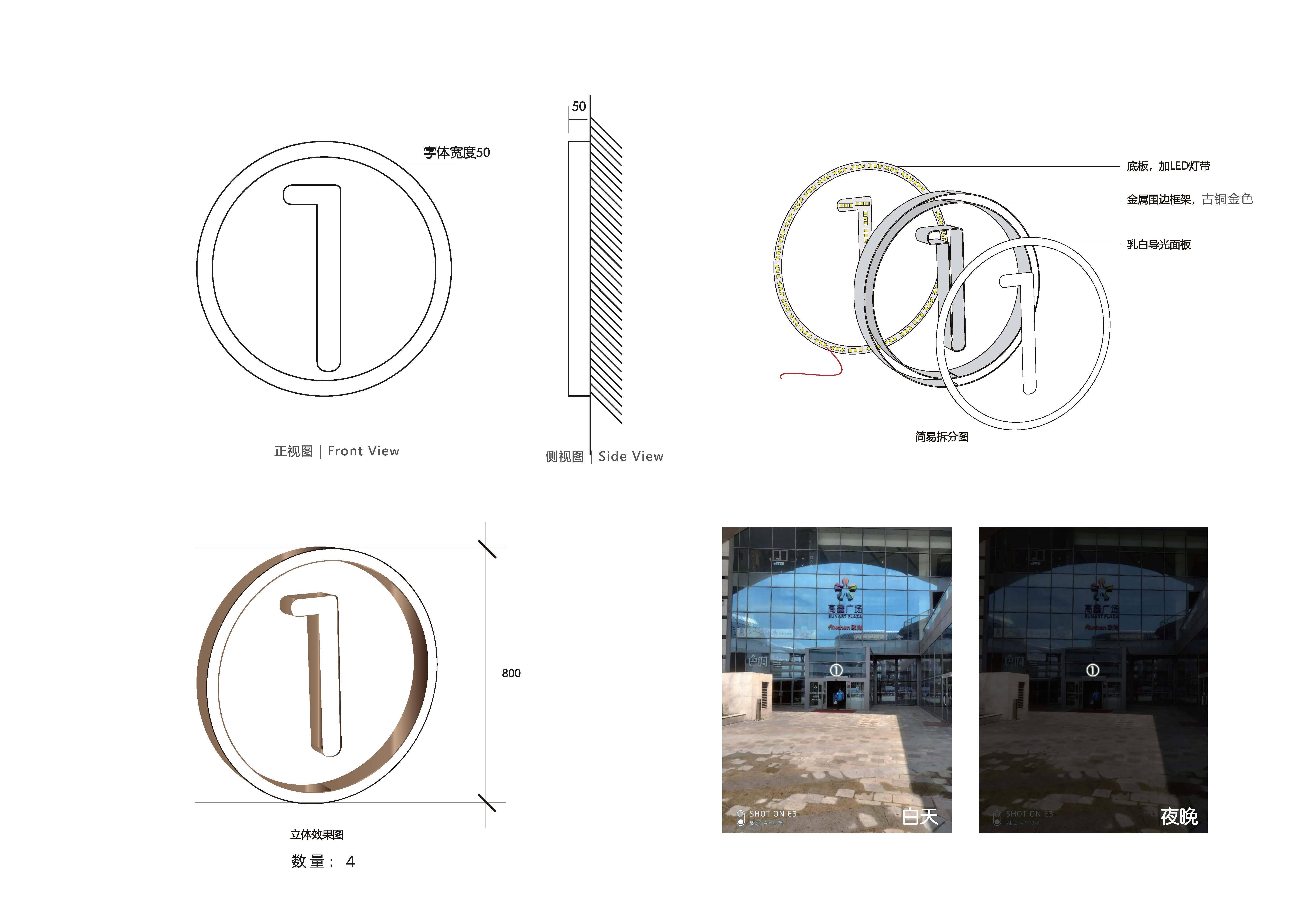 高鑫广场商业标识导视系统方案
