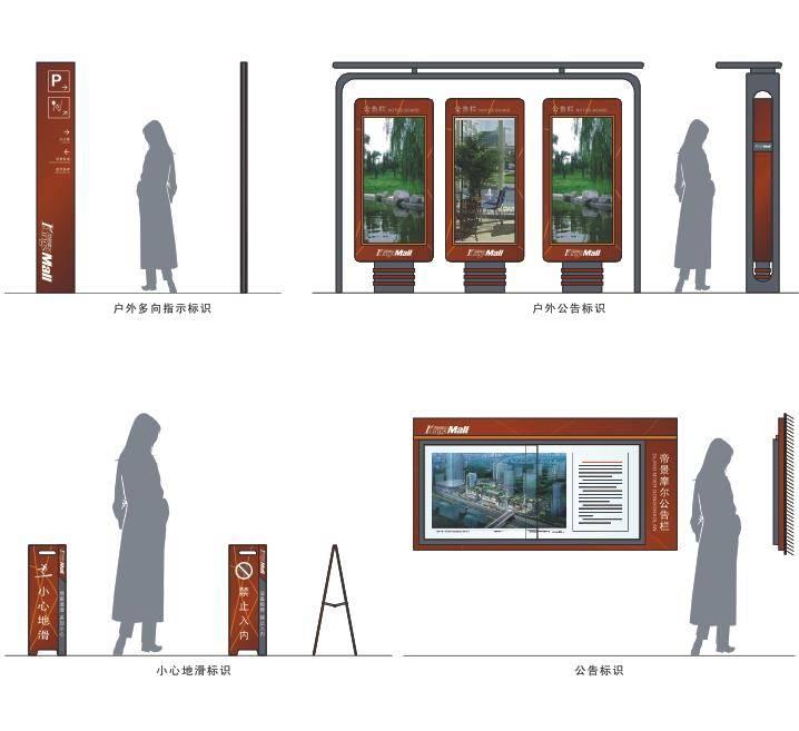 小区导视系统设计【全套标识】