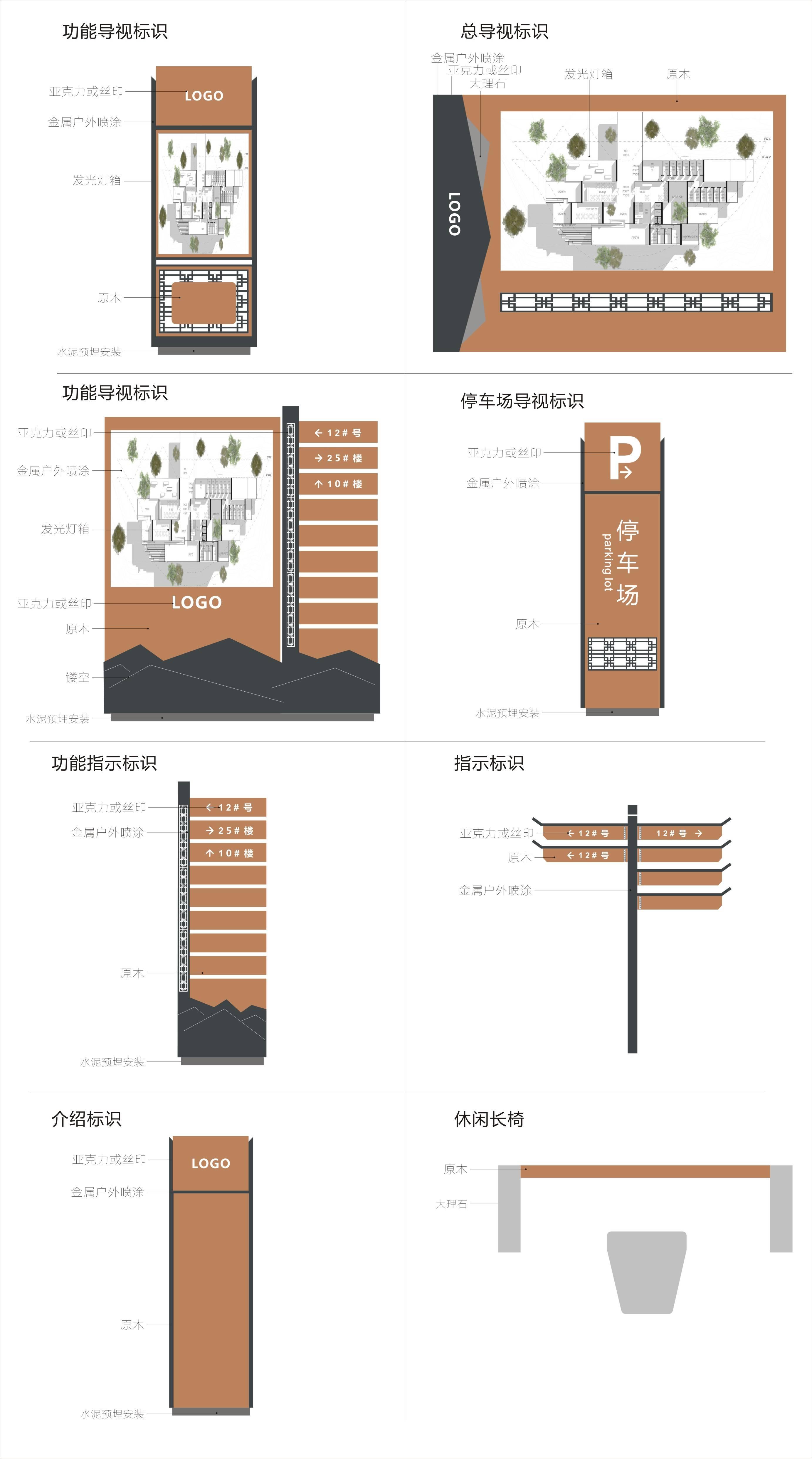 景区公园标识导示系统