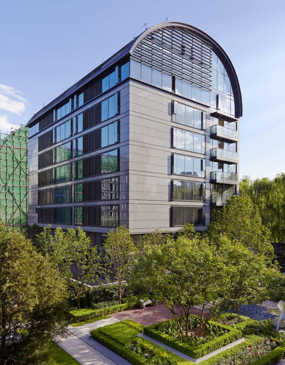 现代主义风格6层顶级豪宅洋房