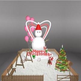 商场圣诞节美陈设计