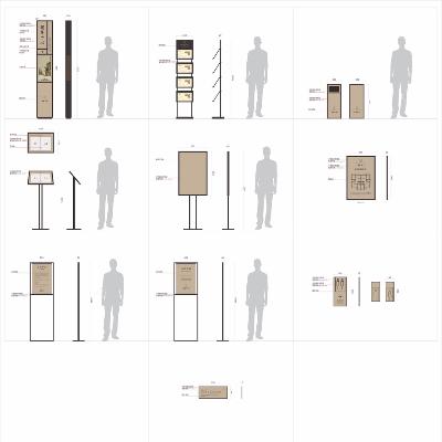售楼中心标识导视系统设计