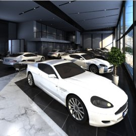 汽车销售中心/汽车展厅