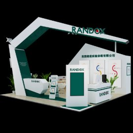 RANDOX医药展台设计
