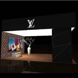 LV 简约展厅