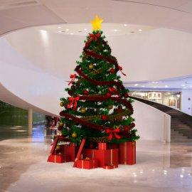 商场圣诞节堆头