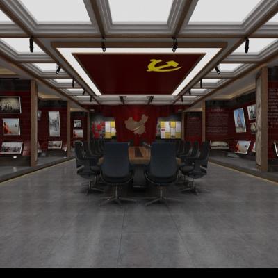 党建中心会议室设计