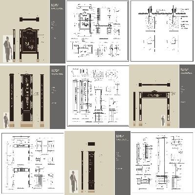 欧式标识国际社区全套铁艺导视系统设计